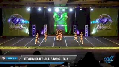 Storm Elite All Stars - Blackout [2021 L3 Senior Coed - D2 - Small Day 3] 2021 CSG Super Nationals DI & DII