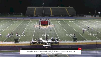 "Quakertown Community High School ""Quakertown PA"" at 2021 USBands Pennsylvania State Championships"