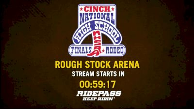 Full Replay - National High School Rodeo Association Finals: RidePass PRO - Rough Stock - Jul 20, 2019 at 9:45 AM EDT