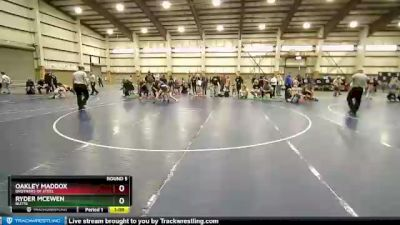 102 lbs Round 5 - Oakley Maddox, Brothers Of Steel vs Ryder McEwen, Butte