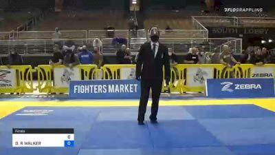 DANIELLE R WALKER vs AMBER LAUREN SMALLRIDGE 2020 World Master IBJJF Jiu-Jitsu Championship
