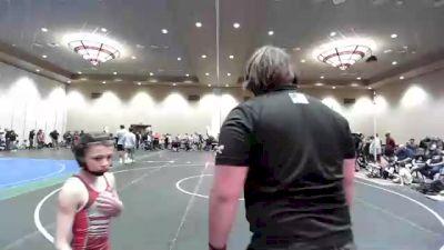 71 lbs Rr Rnd 1 - Wyatt Stauffer, Pennsylvania vs Eli Gabrielson, Southern Maryland Wrestling Club WolfPack