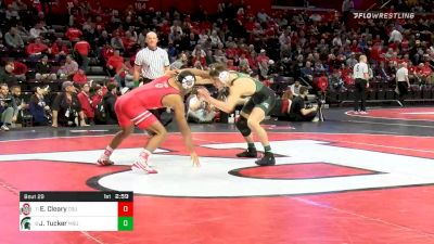 157 lbs Prelims - Elijah Cleary, Ohio State vs Jake Tucker, Michigan State