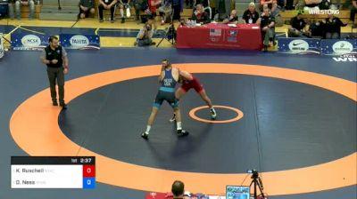 70 kg Quarterfinal - Kyle Ruschell, NYAC vs Dylan Ness, Minnesota Storm