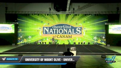 University of Mount Olive - University of Mount Olive [2021 Intermediate Small Coed Division II Day 1] 2021 Cheer Ltd Nationals at CANAM