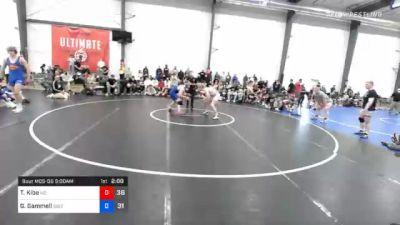 83 kg Semifinal - Trey Kibe, M2 Magicians vs Griffin Gammell, Sebolt Wrestling Academy