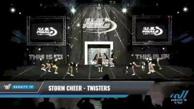 Storm Cheer - Twisters [2021 L2.2 Junior - PREP - D2 Day 1] 2021 The U.S. Finals: Kansas City