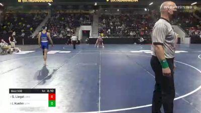 184 lbs Semifinal - Shane Liegel, Loras College vs Ira Kuehn, Luther College