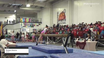 Reagan Mesina - Beam, WOGA - 2021 Region 3 Women's Championships