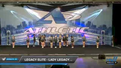 Legacy Elite - Lady Legacy Coed [2021 L4 Senior Coed - D2 Day 2] 2021 Athletic Championships: Chattanooga DI & DII