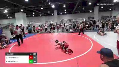 82 lbs Rr Rnd 3 - Calen Childress, Bracket Bullies vs Elias Pedroza, Dethrone