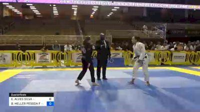 EMILLY ALVES SILVA vs BRENDA HELLER PESSOA FREITAS BAR 2020 Pan Jiu-Jitsu IBJJF Championship