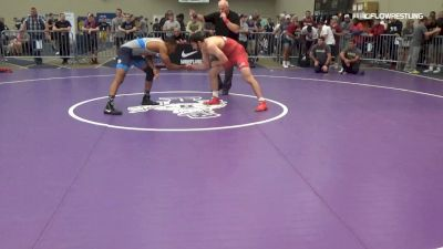 74 kg Round Of 16 - Anthony Wokasch, DCAC vs Maaziah Bethea, PRTC