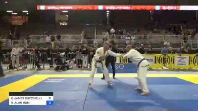 KEVIN JAMES CUCCINELLI vs RAYMOND ALAN HOM 2021 Pan Jiu-Jitsu IBJJF Championship