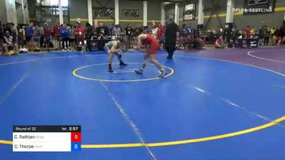 65 kg Prelims - Caleb Rathjen, Sebolt Wrestling Academy vs Connor Thorpe, Askren Wrestling Academy Lake Country