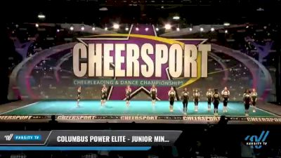 Columbus Power Elite - Junior Mints [2021 L1 Junior - D2 - Small - A Day 2] 2021 CHEERSPORT National Cheerleading Championship