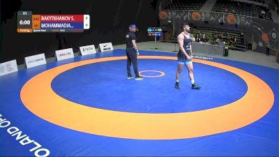 97kg Quarter-Final - Mohammad Mohammadian (IRI) vs Serik Bakytkhanov (KAZ)