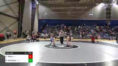 68 lbs Consolation - Troy Wiley, Savannah Wrestling Center vs Riley Nicholson, Etowah Junior Eagle Wrestling Club