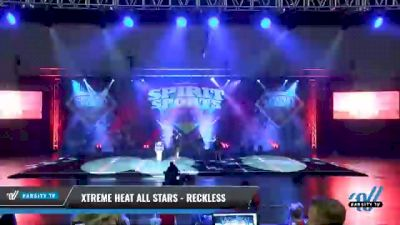 Xtreme Heat All Stars - Reckless [2021 L3 Senior - Small Day 1] 2021 Spirit Sports: Battle at the Beach