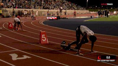 High School Boys' 4x400m Relay Varsity, Final