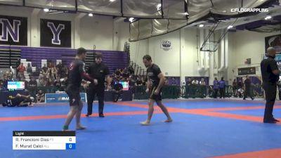 Rodrigo Francioni Dias vs Fabio Murat Caloi 2019 Pan IBJJF Jiu-Jitsu No-Gi Championship