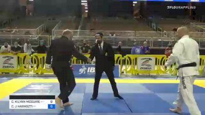 CHARLES KILYAN MCGUIRE vs CHRISTOPHER J HARASZTI 2020 World Master IBJJF Jiu-Jitsu Championship