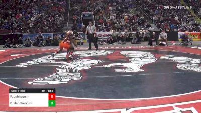 145 lbs Semifinal - Paniro Johnson, Cathedral Prep vs Cole Handlovic, Beth Catholic