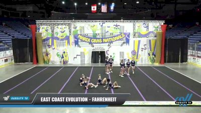 East Coast Evolution - Fahrenheit [2021 L2 Senior] 2021 MG Bead Blast