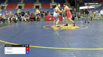 220 lbs Cons 8 #1 - Ethan Powell, South Carolina vs Rylan Bonds, Texas