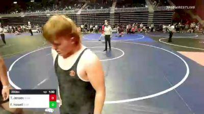 285 lbs Rr Rnd 3 - Forest Howell, Flathead Valley WC vs Tucker Jensen, Wind River