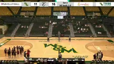 Replay: Northeastern vs William & Mary | Sep 19 @ 2 PM