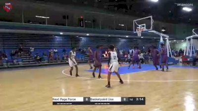 Basketpoint Usa vs. Next Page Force - 2021 AAU Boys World Championships (13U/7th Grade)