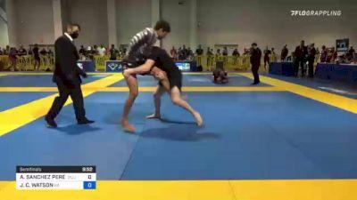 ALAN SANCHEZ PEREZ vs JOESPH C. WATSON 2021 American National IBJJF Jiu-Jitsu Championship
