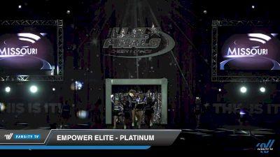 Empower Elite - Platinum [2019 Junior - D2 - Small 2 Day 1] 2019 US Finals Kansas City