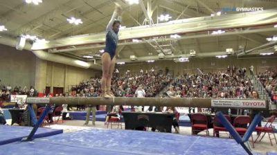 Brooke Bray - Beam, GW - Denver Winterfest Classic (NCAA)