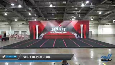 VOGT Devils - Fire [2021 L3 Performance Recreation - 18 and Younger (NON) Day 1] 2021 Red Rose Championship