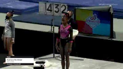 Azaraya Ra-Akbar - Vault, World Class - 2021 US Championships