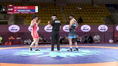 86 kg Quarterfinal - Hassan YAZDANI, IRI vs Hayato ISHIGURO, JPN