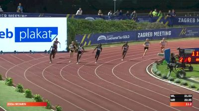 Women's 200m - Another Big Finish For Christine Mboma