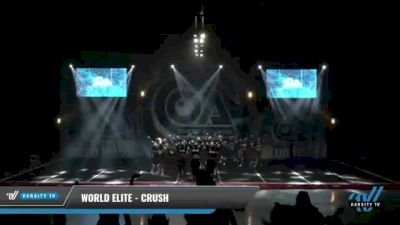World Elite - Crush [2021 L6 International Open - NT Day 2] 2021 COA: Midwest National Championship