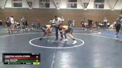157 lbs 5th Place Match - Christian Acosta-stoeber, Genesis vs Ojas Shastri, Bay Area Dragons