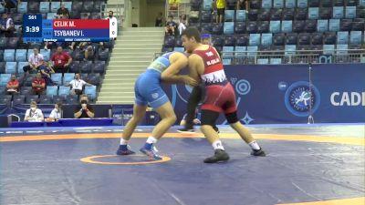 80 kg Repechage #3 - Mert Celik, Turkey vs Ivan Tsybanev, Ukraine