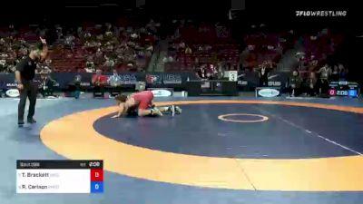 82 kg 3rd Place - Tommy Brackett, Gator Wrestling Club vs Richard Carlson, Minnesota Storm
