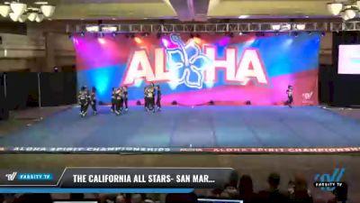 The California All Stars- San Marcos - Justice [2021 L3 Senior - Small Day 2] 2021 Aloha DI & DII Championships