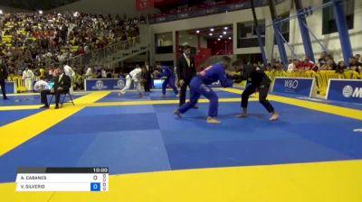 ALEX CABANES vs VICTOR SILVERIO 2018 World IBJJF Jiu-Jitsu Championship