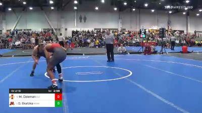 174 lbs Prelims - Marcus Coleman, Iowa State vs Devin Skatzka, Minnesota