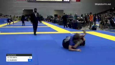 BENJAMIN COLBATH vs DANIEL RUBINOV 2021 World IBJJF Jiu-Jitsu No-Gi Championship