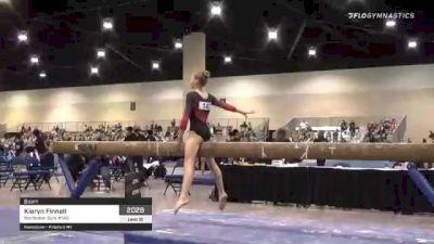 Kieryn Finnell - Beam, Rochester Gym #143 - 2021 USA Gymnastics Development Program National Championships