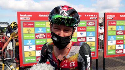 Jack Haig: 'I Will Take Any Seconds I Can' Vuelta 20 - 2021 Vuelta A España