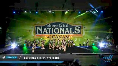 American Cheer - Y/J Black [2021 L3 Junior - Medium Day 2] 2021 Cheer Ltd Nationals at CANAM
